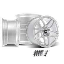 Mustang SVE X500 Wheel Kit - 19x10  - Gloss Silver (15-20)