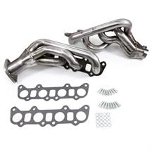 Mustang JBA Cat4ward Shorty Headers - Bare Stainless Steel (15-19) 5.0
