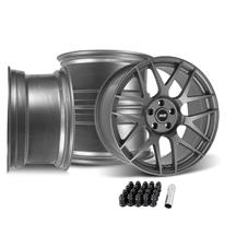 Mustang SVE R357 Wheel Kit - 19x10  - Gloss Graphite (15-20)