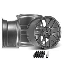 Mustang SVE R357 Wheel Kit - 19x10/11  - Gloss Graphite (15-20)