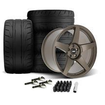 Mustang SVE R355 Wheel & Tire Kit - 19x10/11  - Satin Bronze (15-20)