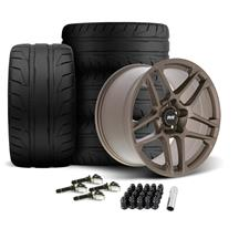 Mustang SVE X500 Wheel & Tire Kit - 19x10/11  - Satin Bronze (15-20)