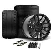 Mustang SVE R357 Wheel & Tire Kit - 19x10/11  - Gloss Black - NT05 Tires (15-20)