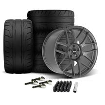 Mustang SVE R357 Wheel & Tire Kit - 19x10/11  - Gloss Graphite (15-20)
