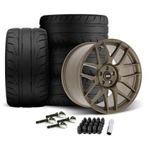 Mustang SVE R357 Wheel & Tire Kit - 19x10/11  - Satin Bronze (15-20)