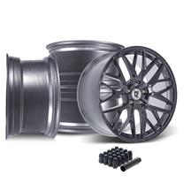 Mustang Downforce DC10 Wheel Kit - 20x9/10 - Arctic Forged (15-20)