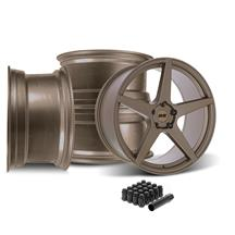 SVE Mustang XS5 Wheel Kit - 20x8.5/10  - Ceramic Bronze (15-21)