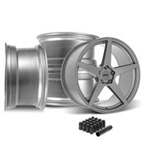 SVE Mustang XS5 Wheel Kit - 20x8.5/10  - Sterling Graphite (15-21)