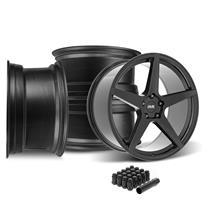 SVE Mustang XS5 Wheel Kit - 20x8.5/10  - Tuxedo Black (15-21)