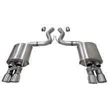 Mustang Corsa Active Axle Back Exhaust (2018)