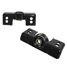 J&M Mustang Upper Shock Mount Black (15-19) 25350b