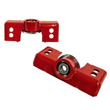 J&M Mustang Upper Shock Mount Red (15-19) 25350R