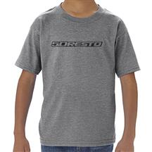 5.0 Resto Logo Toddler Tee - 5T  - Gray