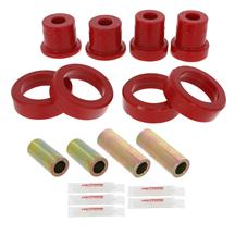 Mustang Prothane Rear Lower Control Arm Bushing Kit - Red (11-14)