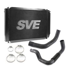 Mustang SVE Aluminum Radiator Kit   - Black (79-93)