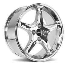 Mustang Cobra R Wheel - 17X8  - Chrome  (79-93)