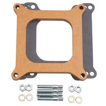 "Mustang 1/2"" Wood Laminate Carburetor Spacer  - 4150 Style (79-85) 5.0L/5.8L"