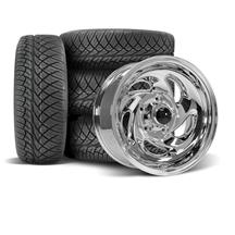 F-150 SVT Lightning SVE Gen 1 Wheel & Nitto Tire Kit - 17x8  - Chrome (93-95)
