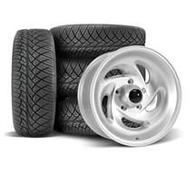 F-150 SVT Lightning SVE Gen 1 Wheel & Nitto Tire Kit - 17x8  - Silver (93-95)