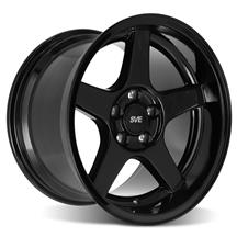 SVE Mustang 2003 Cobra Style Wheel - 17x10.5 - Deep Dish  - Black (94-04)