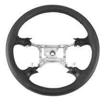 Mustang SVE FR500 Style Steering Wheel - Black (94-04)