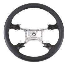 Mustang SVE FR500 Style Steering Wheel - Dark Charcoal Gray (94-04)
