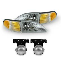 Mustang SVE Cobra Headlight & Fog Light Kit (94-98)