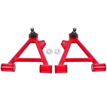 BMR Mustang Tubular Front Control Arms   - Standard Ball Joint - Red (94-04) BMR-AA041R