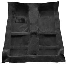 Mustang Mass Back Floor Carpet  Dark Charcoal (05-09)