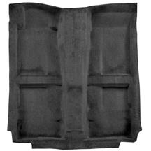 Mustang Mass Back Floor Carpet  - Dark Charcoal (10-14)