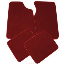 Mustang Floor Mats Canyon Red  (84-86)