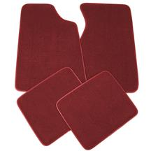 Mustang Floor Mats Ruby Red  (93-93)