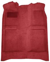 Mustang Floor Carpet  Medium Red/Scarlet Red (82-92) Coupe Hatchback