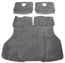 Mustang Hatch Area Carpet Dark Gray/SVO Gray (84-86)