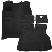 Mustang Floor Carpet & Hatch Carpet Kit Black (87-93)