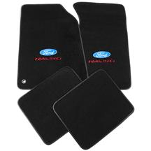 Mustang ACC Floor Mats with Ford Racing Logo Dark Charcoal (99-04)