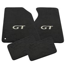 Mustang ACC FLoor Mats with GT Logo Dark Charcoal (99-04)