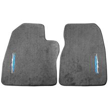 F-150 SVT Lightning ACC Vertical Lightning Logo Floor Mats  - Dark Gray (1993)