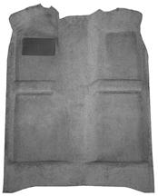 Mustang Floor Carpet w/ Mass Back Dark Gray/Smoke Gray (84-89) Convertible