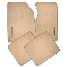 ACC Mustang Cobra Floor Mats w/ 94-95 Cobra Text  - Saddle Tan (94-98) 8384-325