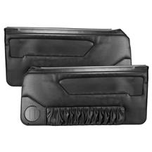 Acme Mustang Door Panels for Power Window Black (90-93) Convertible