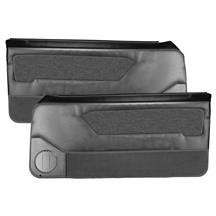 Acme Mustang Door Panels for Power Windows - Smoke Gray (88-89) Convertible