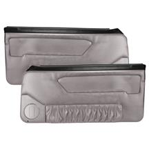 Acme Mustang Door Panels for Power Windows Titanium Gray (90-92)