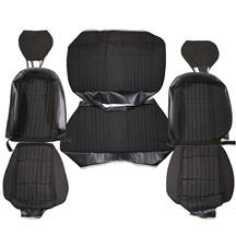 Mustang Acme Sport Seat Upholstery Black Cloth (92-93) Coupe