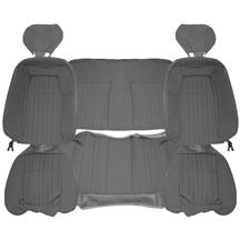 Acme Mustang Sport Seat Upholstery - Cloth  - Opal Gray (1993) Convertible U642-B110