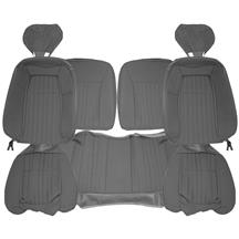 Acme Mustang Sport Seat Upholstery - Cloth  - Opal Gray (1993) Hatchback