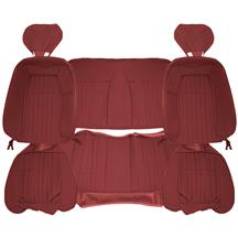 Acme Mustang Sport Seat Upholstery - Cloth  - Ruby Red (1993) Coupe 43-73626-6795-79