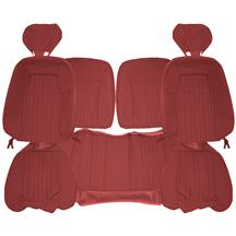 Acme Mustang Sport Seat Upholstery - Cloth  - Ruby Red (1993) Hatchback