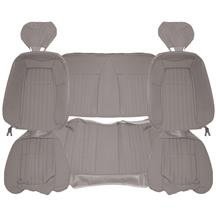 Acme Mustang Sport Seat Upholstery - Cloth  - Titanium Gray (1992) Coupe