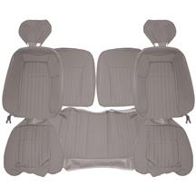 Acme Mustang Sport Seat Upholstery - Cloth  - Titanium Gray (1992) Hatchback